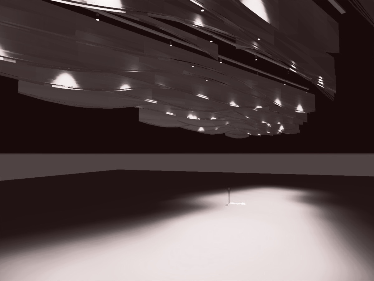 Dialux simulation of proposed light installation